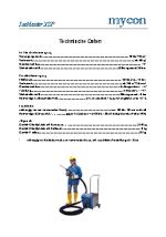 Technisches Datenblatt IceMaster XSP + SP