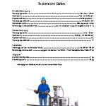 Technisches Datenblatt Mini PowerMaster