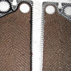 PowerMaster - Reinigung eines Plattenwärmetauschers vorher