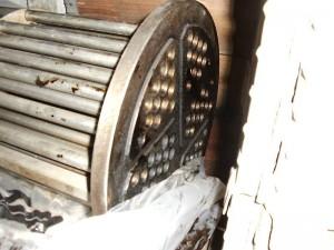 Wärmetauscher nach der Reinigung mit TubeMaster