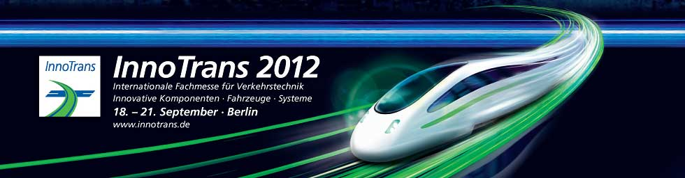 mycon GmbH auf der InnoTrans 2012 in Berlin