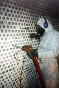 Reinigung einer Abgasverbrennungsanlage in der PVC-Produktion