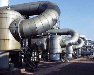 Kondensatorreinigung einer Entschwefelungsanlage in der Gasförderung
