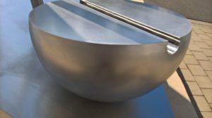 Skulptur nach Entlackung (Detailansicht)