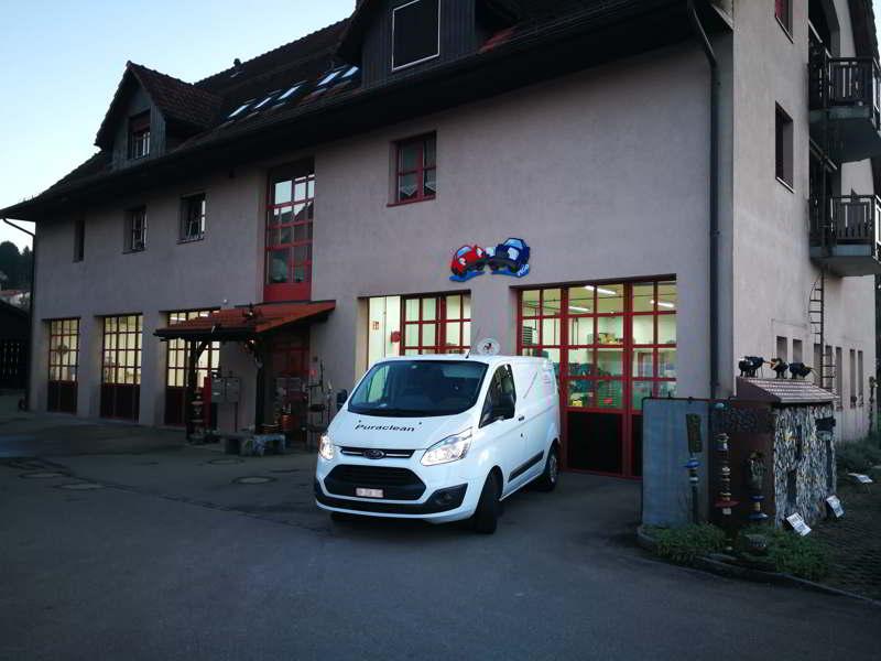 Werkstatt von Puraclean in Oberhasli, Schweiz