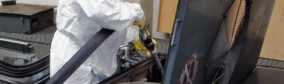 Nettoyage de l'échangeur thermique d'un système de climatisation sur un train régional