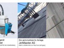 JetMaster Handgerät und automatisierte Anlage außen und innen