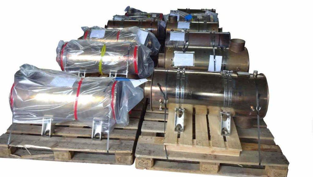 Abgaspartikelfilter von Lokomotiven