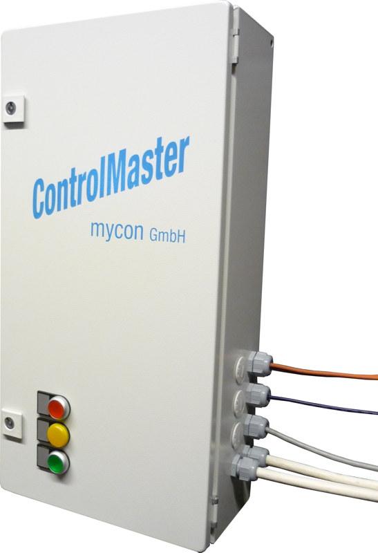 ControlMaster zur Erfassung von Messwerten und Steuerung der automatisierten Reinigungsanlage